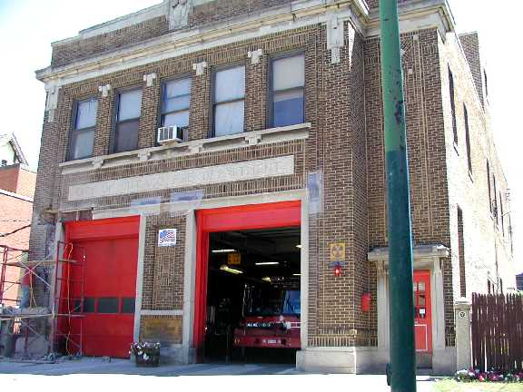 FIRE STATION - 73RD AND KINGSTON - FROM EVA CASEY'S PERSONAL SITE